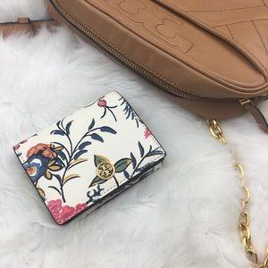 Tory Burch | Parker Gabriella Floral Mini Wallet